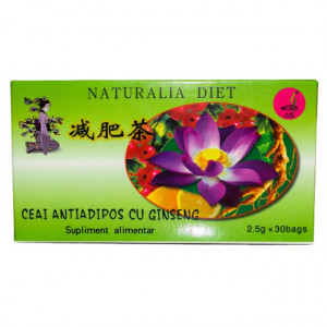 Ceai antiadipos cu Ginseng - 30 plicuri