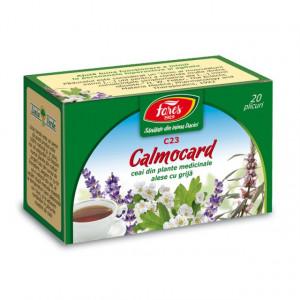 Ceai Calmocard C23- 20 pl Fares