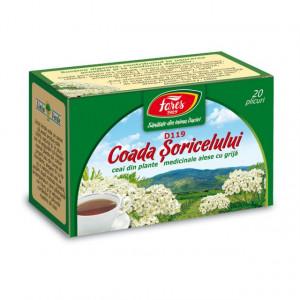 Ceai Coada Soricelului D119 - 20 pl Fares