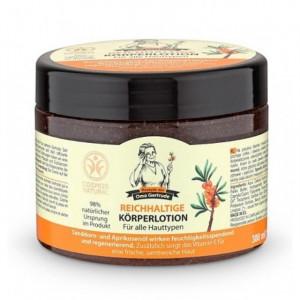Crema corporala nutritiva cu ulei de catina - 300 ml Oma Gertrude