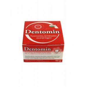Dentomin - praf de dinti nespumant - 95 g