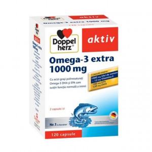 Doppelherz aktiv Omega-3 extra 1000 mg - 120 cps
