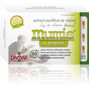 Extract purificat de rasina Mumie cu propolis - 60 cps