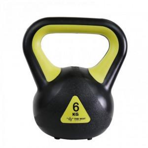 Gantere Kettlebell, 6 kg, Vinil, TheWay Fitness