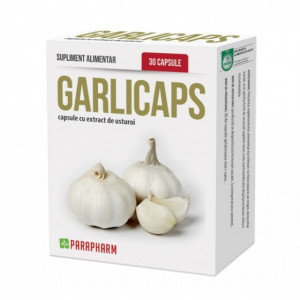 Garlicaps 30 cps - Antibiotic natural, Tensiune
