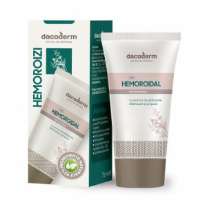 Gel hemoroidal Dacoderm - 75 ml