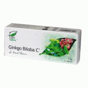 Ginkgo Biloba C - 30 cps