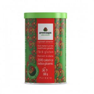 Green Sugar Pulbere (cutie carton) - 300 g