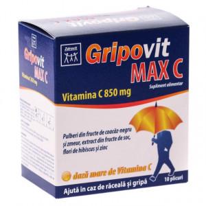 Gripovit Max Vitamina C 850mg - 10 dz