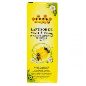 Laptisor de matca 150 mg - 30 cps