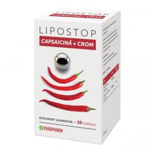 Lipostop Capsaicina + Crom - 30 cps