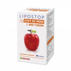 Lipostop cu otet de mere 60 cps - pentru slabit