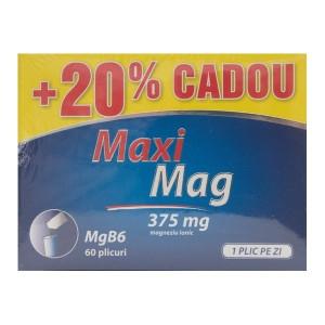 Maximag - 60 plicuri 20% Cadou