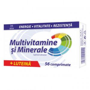 Multivitamine + Minerale + Luteina - 56 cpr