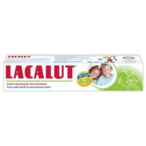 Pasta de dinti Lacalut Kids 4-8 ani - 50 ml