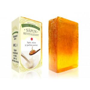 Sapun revitalizant cu lapte, miere si parfum asortat vol. 3, 100 g