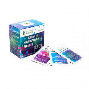 Saruri rehidratare cu probiotic si diosmectita - 24 plicuri