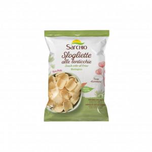Snack BIO fara gluten, de linte, copt la cuptor Sarchio - 50g