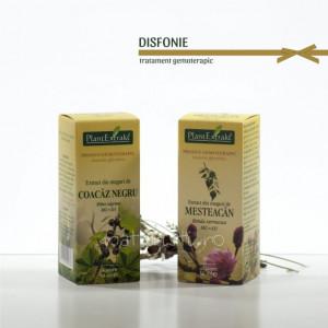 Tratament naturist - Disfonie (raguseala) (pachet)