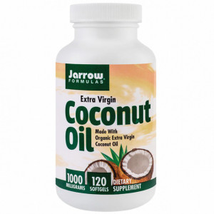 Ulei de cocos extra virgin 1000 mg - 120 cps