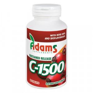 Vitamina C-1500 macese - 90 cpr