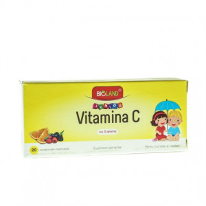 Vitamina C Junior 3 arome - 20 cpr
