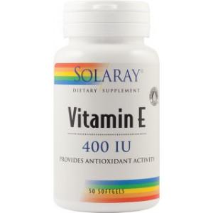 Vitamina E 400UI - 50 capsule gelatinoase moi