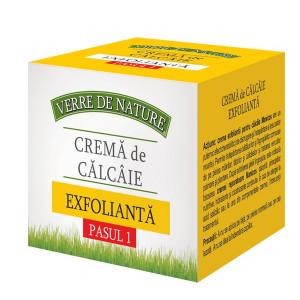 Crema calcaie exfolianta 100 ml pasul 1