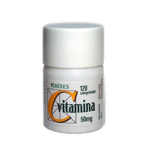 Beres Vitamina C 50mg x 120cpr