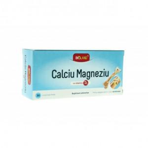 Calciu, magneziu si vitamina D3 - 30 cpr