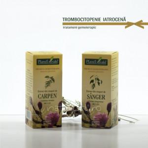 Tratament naturist - Trombocitopenia iatrogenă (pachet)