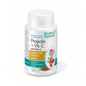 Propolis + Vitamina C+ Echinacea + Miere - 30 cps