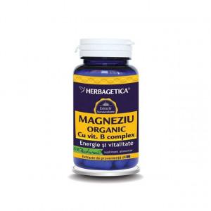 Magneziu Organic 60 cps