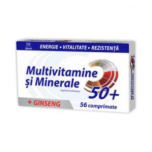 Multivitamine + Minerale + Ginseng - 56 cpr