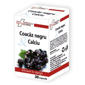 Coacaz negru & Calciu - 30 cps