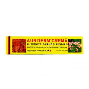 Aur Derm Crema - Mimoza, Smirna si Propolis - 30 ml