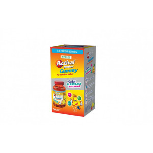 Actival Junior Gummy - 50 cpr + cadou plastilina inteligenta