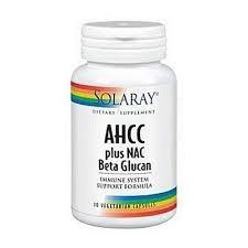 AHCC + NAC & Beta Glucan - 30 cps