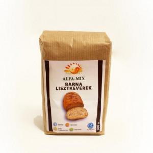 Alfa mix pentru paine neagra - 500 g