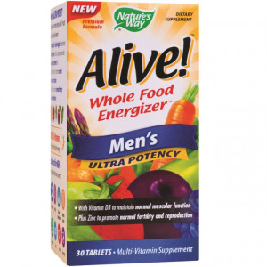 Alive Men's Ultra - 30 cpr