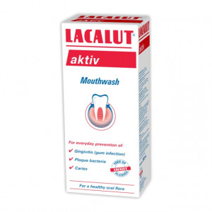 Apa de gura Lacalut Aktiv - 300 ml