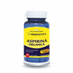Aspirina Organica 30 cps