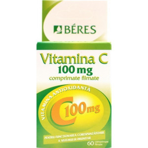 Beres Vitamina C 100mg x 60cpr