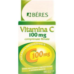 Beres Vitamina C 100mg x 60cpr