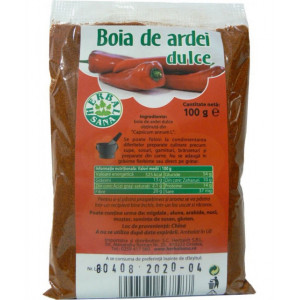 Boia de ardei dulce - 100 g Herbavit