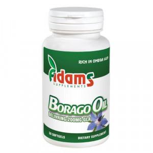 Borago Oil 1000mg - 30 cps