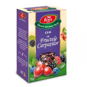 Ceai cu Fructele Carpatilor - 75 gr Fares