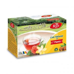 Ceai Natural din 7 Plante - 20 pl Fares