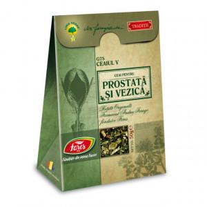 Ceaiul V - Ceai pentru Prostata si Vezica G75 - 50 gr Fares