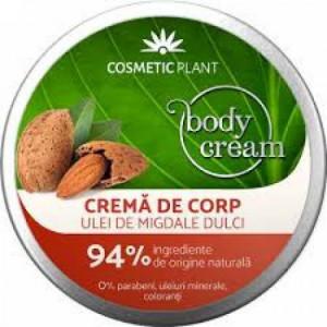 Crema de corp cu ulei de migdale dulci - 200 ml